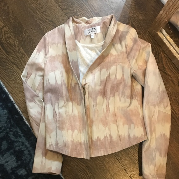 Badgley Mischka Jackets & Blazers - Nwot Bagdley Mischka leather jacket